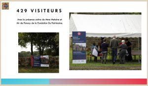 JEP Journées européennes du patrimoine 2020 Coetcandec, guide et visiteurs